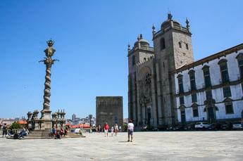 Kathedrale Sé de Porto: Startpunkt der Radreise Camino Portugués de la Costa