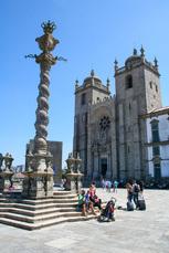 Kathedrale Sé de Porto: Startpunkt der Wanderung auf dem Camino Portugués de la Costa