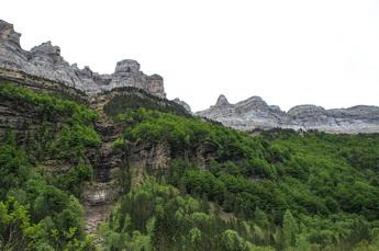 Die atemberaubenden Canyons des Ordesa-Nationalpark...