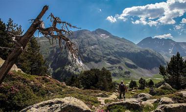Im Naturpark Posets-Maladeta (5.- 8. Tag) am Grenzpass zu Frankreich