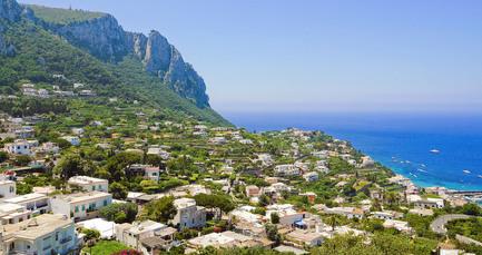 Im weniger touristischen Anacapri im Westen der Insel liegt ihr 3-Sterne-Hotel