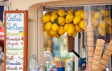 3. Tag: Nach einen frischen Orangensaft und leckerem Eis wandert es sich wie von allein