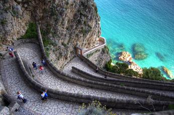 3. Tag: Die Via Krupp gilt als einer der schönsten und spektakulärsten Wanderwege der Welt