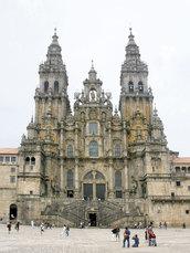 Ausnahmsweise mal der Start- und nicht der Zieort: Die Jakobus-Kathedrale in Santiago