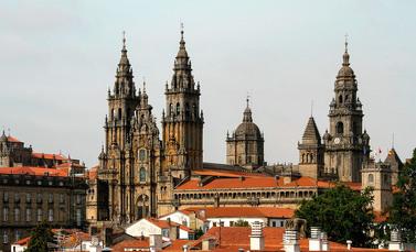 Das Ziel ist erreicht: Die Jakobus-Kathedrale in Santiago. Und wann kommen Sie?