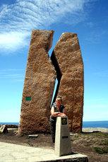 Die schwerste Steinskulptur Spaniens: Das Monument A Ferida bei Muxia