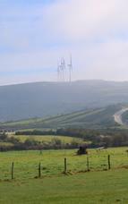 """""""Magische"""" Windräder: Wenn sich der Nebel in Galiciens Bergen lichtet"""