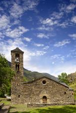 … und wenn wir genügend Zeit haben auch die romanische Kirche Sant Marti de la Cortinada.