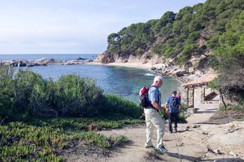 Gleich die erste Wanderung (2. Tag) bietet Küste pur…