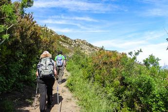 Im Frühjahr zeigt sich der Naturpark Cap de Creus von seiner grünen Seite.