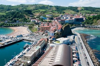 Block 1: Hafen von Getaria