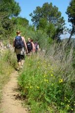 Die nächste Wanderung startet in Begur und führt zunächst durch das küstennahe Hinterland…