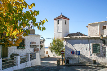 """Capileira liegt zwar nicht am GR 7, aber auf unserer Variante. Das Dorf gilt als """"must see""""…"""