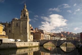 Block 2: Kirche San Anton (15. Jh) in Bilbao