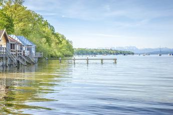 Unglaublich groß und klares Wasser: Der Ammersee