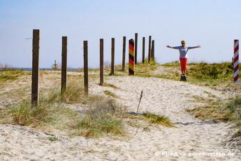 Und wer noch Kraft und Lust hat, wandert noch 3,5 km weiter bis zur deutsch-polnischen Grenze! Und wann entdecken Sie den Ostseeküsten-Wanderweg mit PURA?