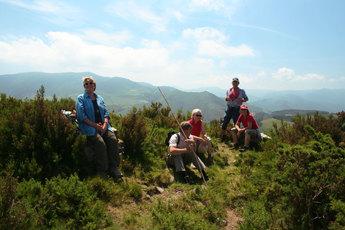 Block 5: Der Camino verläuft durch das galicische Mittelgebirge