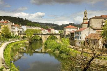 Block 5: Typisch galicisches Dorf