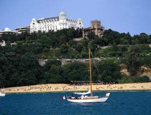 Block 2: Santander mit Playa und Palast auf der Magdalena Halbinsel
