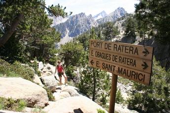 3. Tag: Der Abstieg an Nachmittag führt durch dichte Wälder und an vier Gebirgsseen vorbei