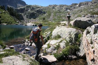 2. Tag: Hochseen säumen den Wanderweg durch die katalanischen Pyrenäen