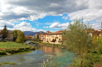 Die Kleinsatdt Rieti bietet eine schone Altstadt