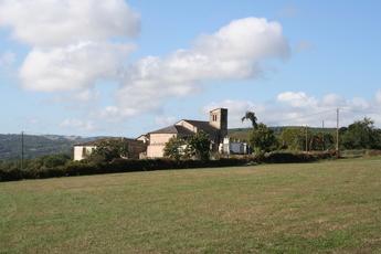 Kirche auf dem Jakobsweg