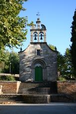 Kleine Kapelle in Portomarin