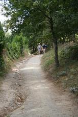 Wanderweg vor Melide