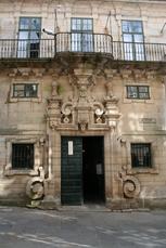 Das Pilgerbüro in Santiago in dem Sie sich die Pilgerurkunde abholen können