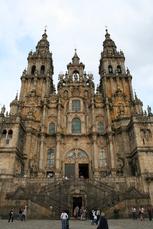 Das Ziel, die Kathedrale von Santiago