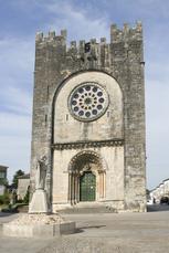 Die Kirche San Juan in Portomarin