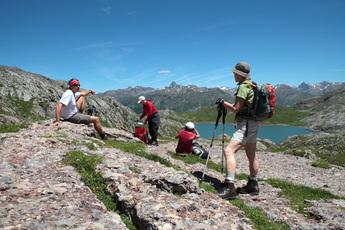 Hochsee Ibon Estances an der Pyrenäen-Grenze Frankreich mit Spanien