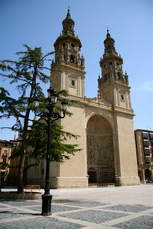 Die Kathedrale in Logrono