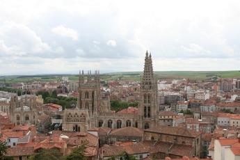Blick über Burgos
