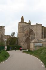 Die Ruinen von San Anton bei Castrojeriz