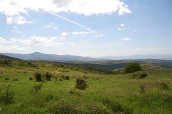 Ausblick auf der Etappe Rabanal nach Molinaseca