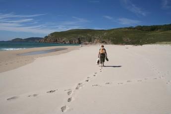 …oder wegen dem Strand zwischen Lires und Finisterre