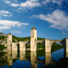 Die Brücke von Estaing