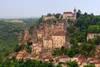 Das beschauliche Örtchen Rocamadour