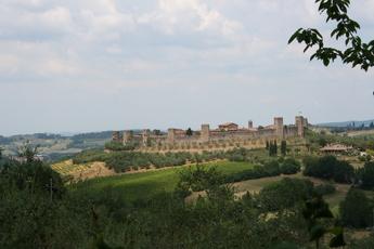 Stadtmauer von Montereggioni