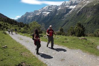 Pineta-Tal im Pyrenäen-Nationalpark Ordesa y Monte Perdido