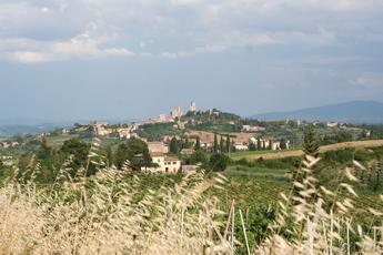 Skyline von San Gimignano