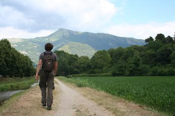 Wanderweg der Via Francigena