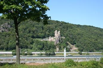 Burg Rheinstein in der Nähe von Assmannshausen