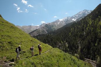 Das Chistau- oder Gistain-Tal zwischen Naturpark Posets und Ordesa-Nationalpark