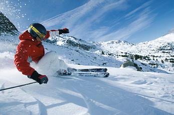 Carving-Spass total im Skigebiet Andorra Grandvalira
