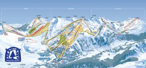 Über 150 Pistenkilometer stehen Ihnen in der 3-Täler-Skischaukel von Baqueira-Beret zur Verfügung