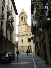Die Kathedrale von Pamplona
