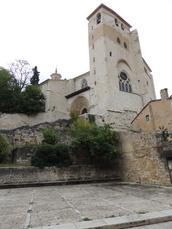Kirche San Pedro de la Rua in Estella 12. Jh.